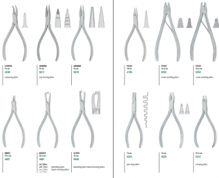 Kohler Pliers for Orthodontics