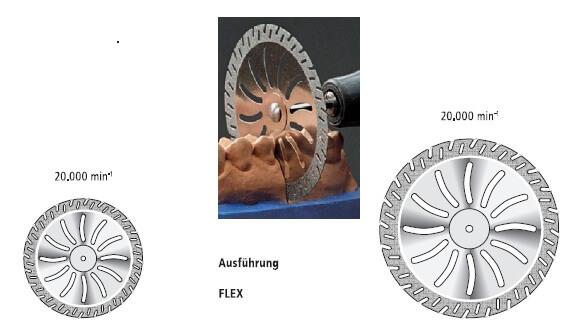 Laboratory Diamond Discs for Gypsum okoDent
