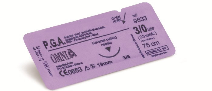 Omnia P.G.A. Surgical Sutures