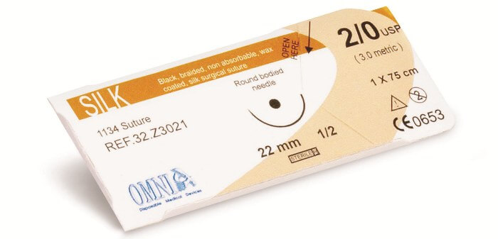 Omnia Silk Surgical Sutures